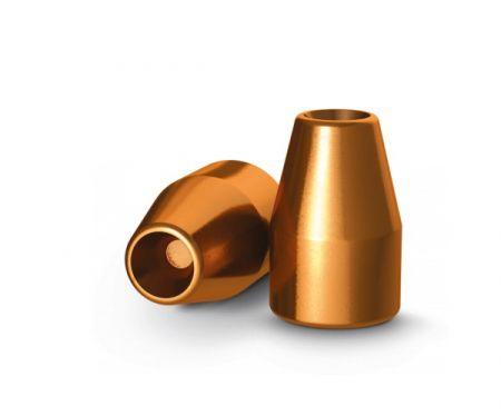 Ogives 9mm (.356) cuivrées creuses 115 grs
