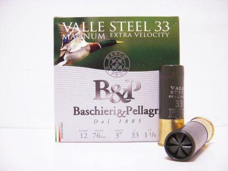 Boite de 25 cartouches Baschieri&Pellagri cal. 12/76 Magnum