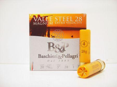 Boite de 25 cartouches Baschieri&Pellagri cal. 20/76