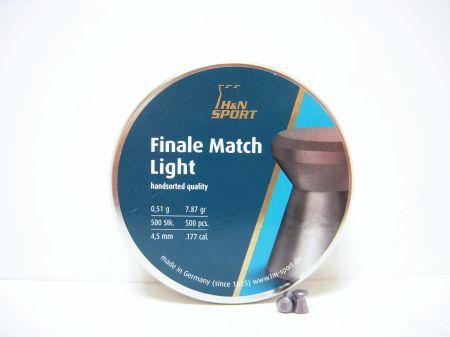 Boite de 500 plombs 4.5 FINAL MATCH LIGHT 4.49