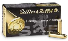 Boite  50 cartouches 38 SPECIAL SELLIER BELLOT 158 grs FMJ