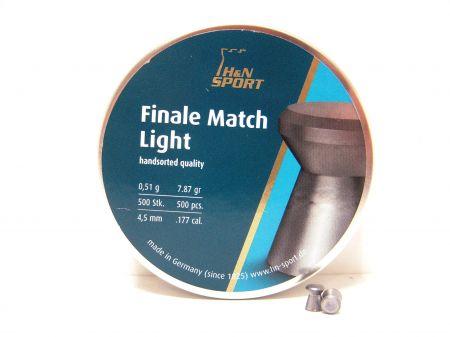 Boite de 500 plombs 4.5 FINALE MATCH LIGHT 4.50