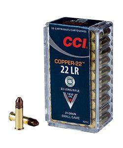 Boite de 50 cartouches CCI COPPER-22