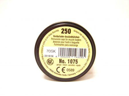 Bte 250 amorces cannelées RWS 1075
