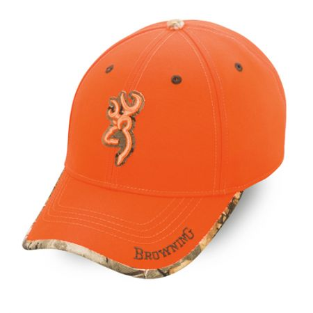 Casquette BROWNING Orange Fluo SURE SHOT