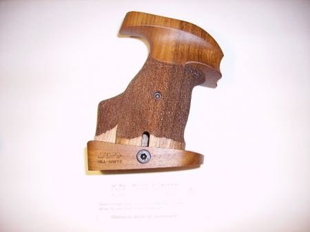 Poignée anatomique en bois pour revolver Manurhin Droitier  MR021