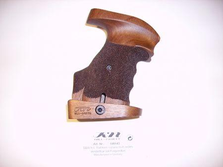 Poignée anatomique en bois pour revolver Smith & Wesson K/L SB Droitier  SW043