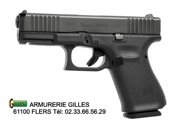 Glock 19 GEN 5 Cal 9x19 mm