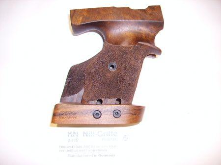 Poignée anatomique en bois NILL pour pistolet FEINWERKBAU AW93 Droitier FW073