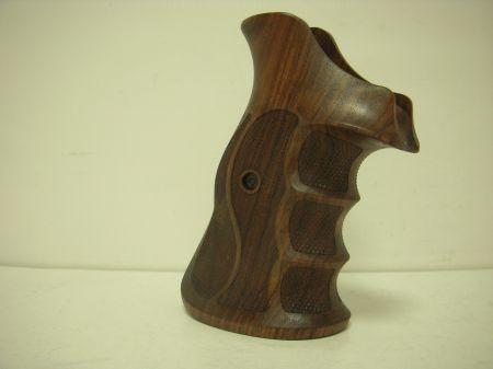 Poignée COMBAT en bois pour revolver Smith & Wesson N RB SW01P8