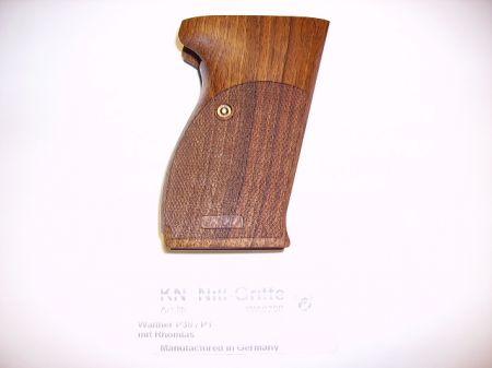Plaquettes bois pour pistolet  WALTHER P38 WA0758