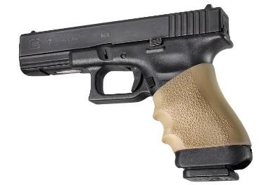 Surpoignée HOGUE TAN pour Glock