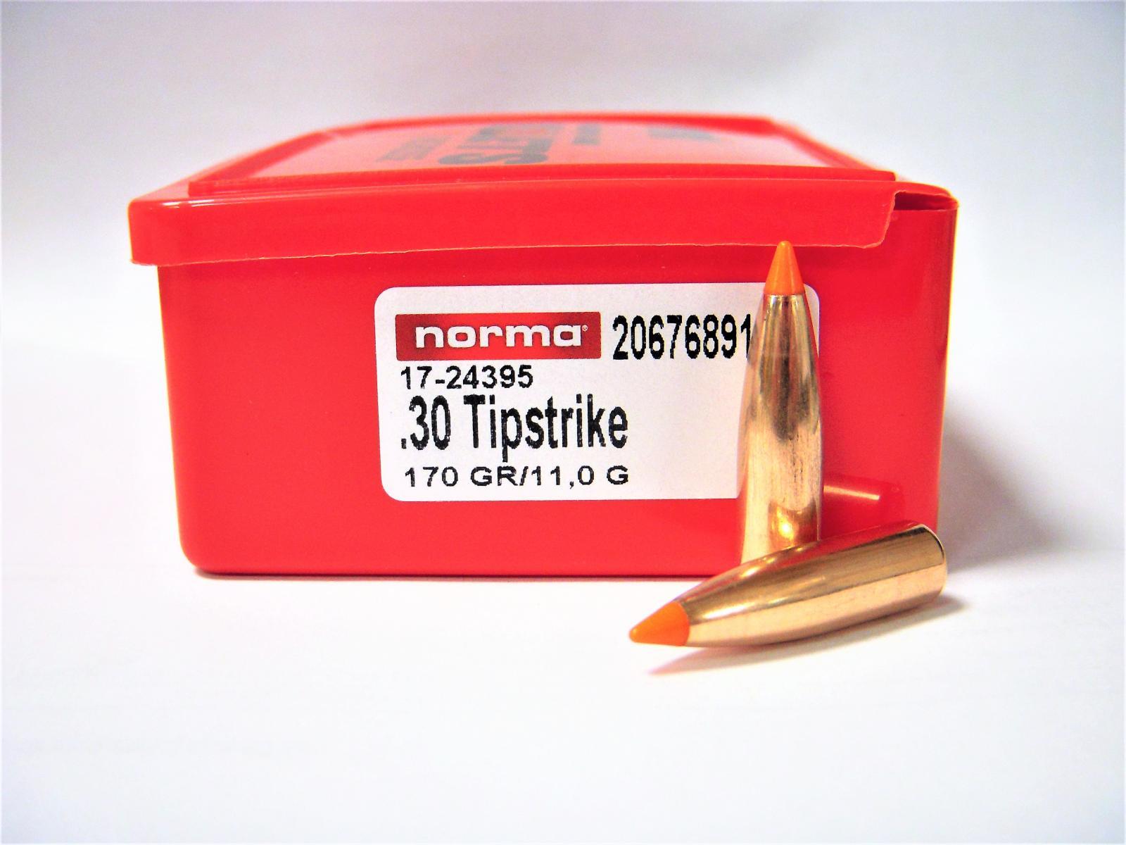 Ogives NORMA .30 Tipstrike 170 grs