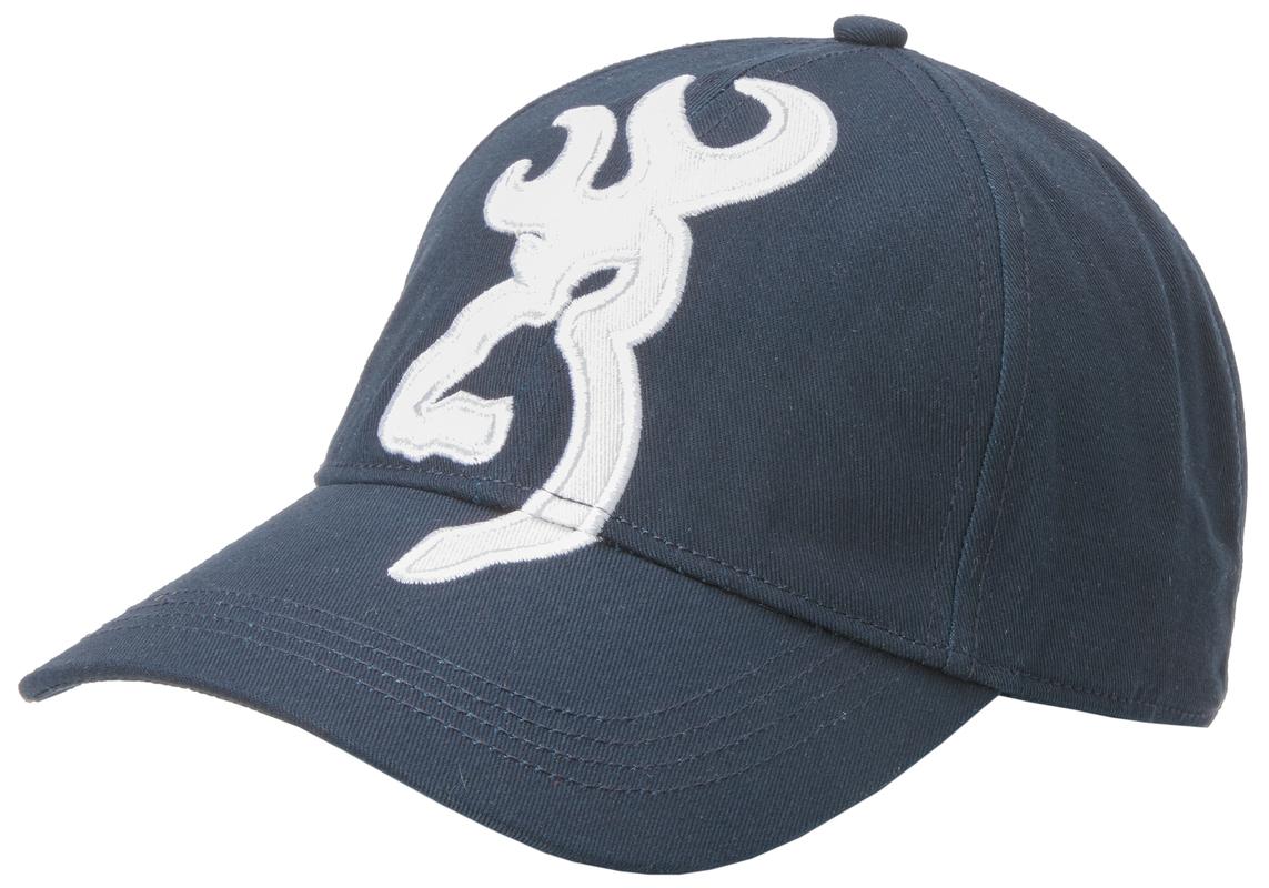 Casquette BROWNING Marine avec logo blanc