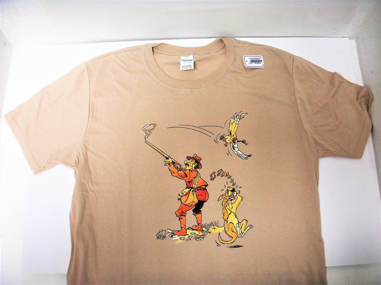 Tee Shirt humoristique chasseur/canard LOVERGREEN