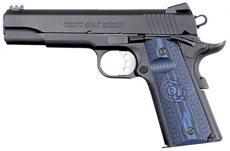 PSA Colt GOVERNMENT SERIE COMPETITION 45 ACP Bronzé