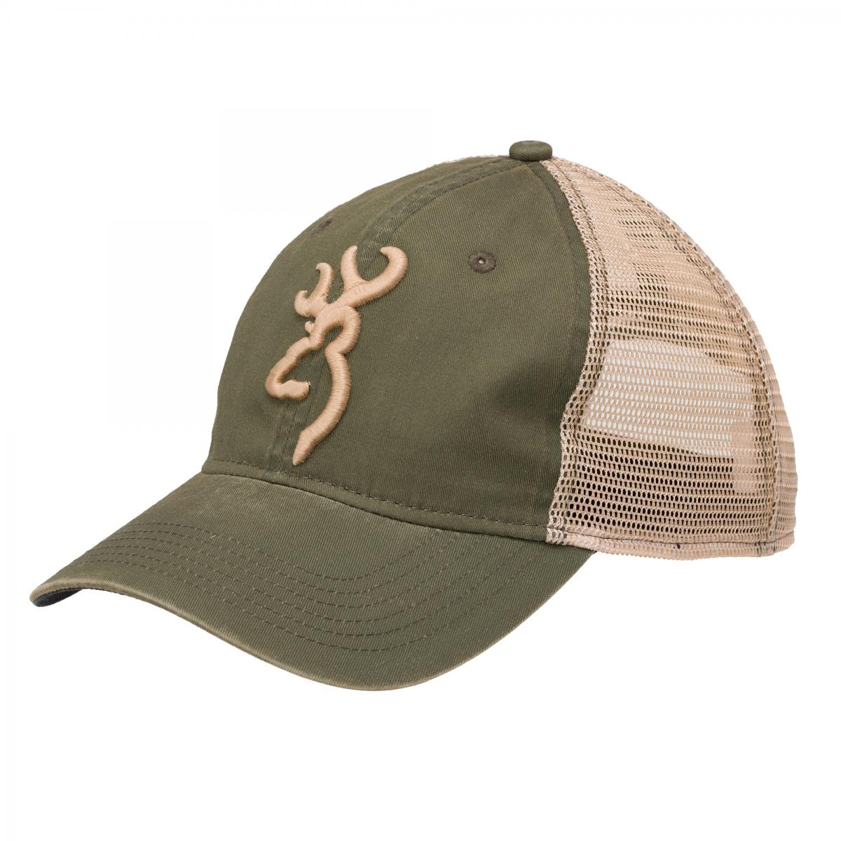Casquette BROWNING FILET/OLIVE