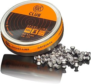 Boite 500 plombs 4.5 CLUB club10