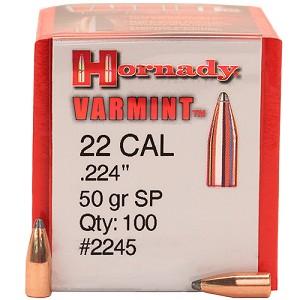 Cal 22 VARMINT 50 grs H2245