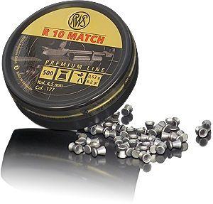Boite 500 plombs 4.5 R10 MATCH 0.53 g 4.49 R105349