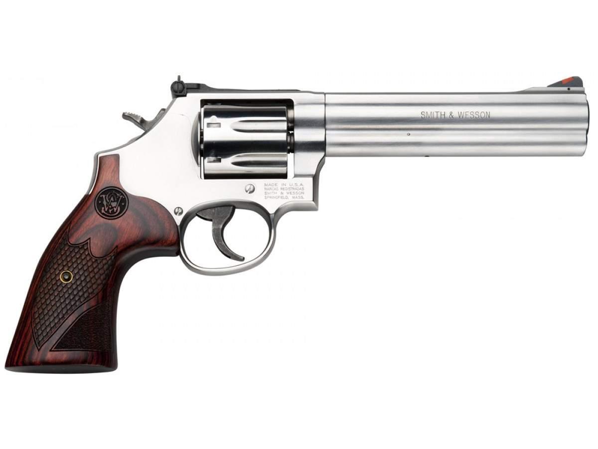 "Revolver S&W 686 + Deluxe 6"""