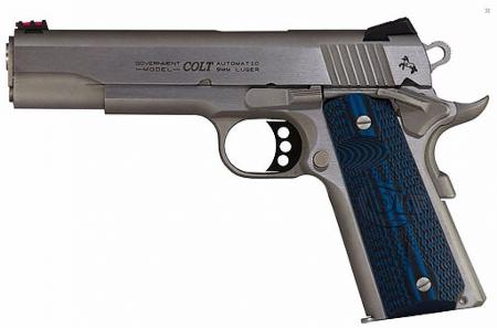 PSA Colt GOVERNMENT SERIE COMPETITION 9 mm Inox