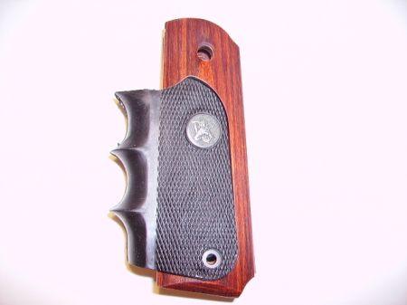Poignée bois et caoutchouc pour pistolet COLT 45 1911 PA00423