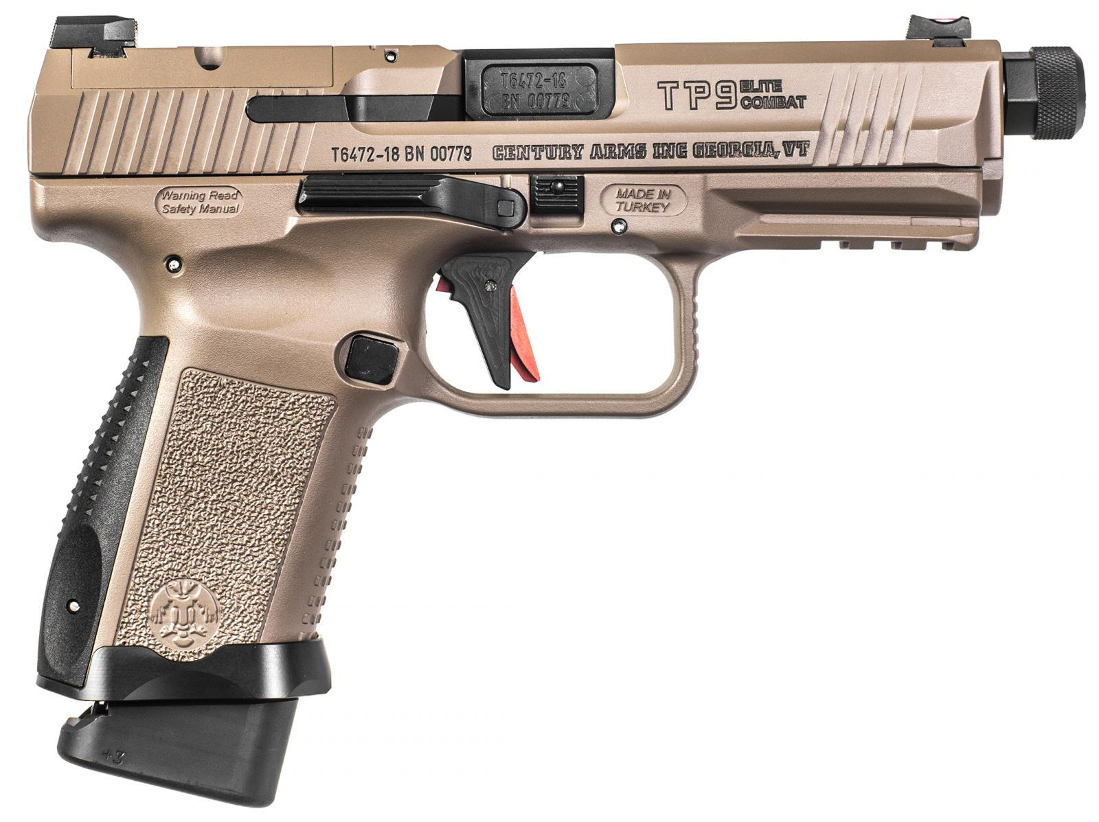 P.S.A Canik 9 mm TP9 SF Elite Combat Desert