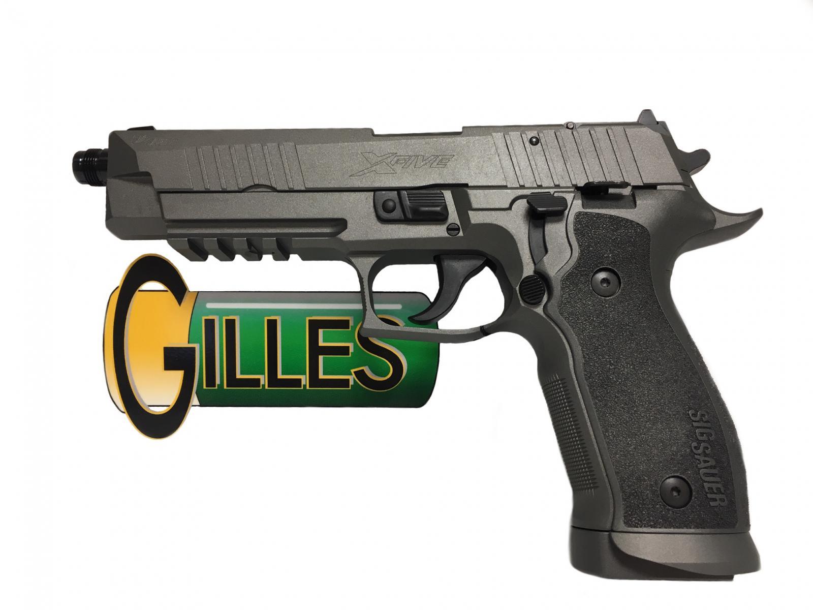 P226 XFIVE TAC cal 9mm GRIS