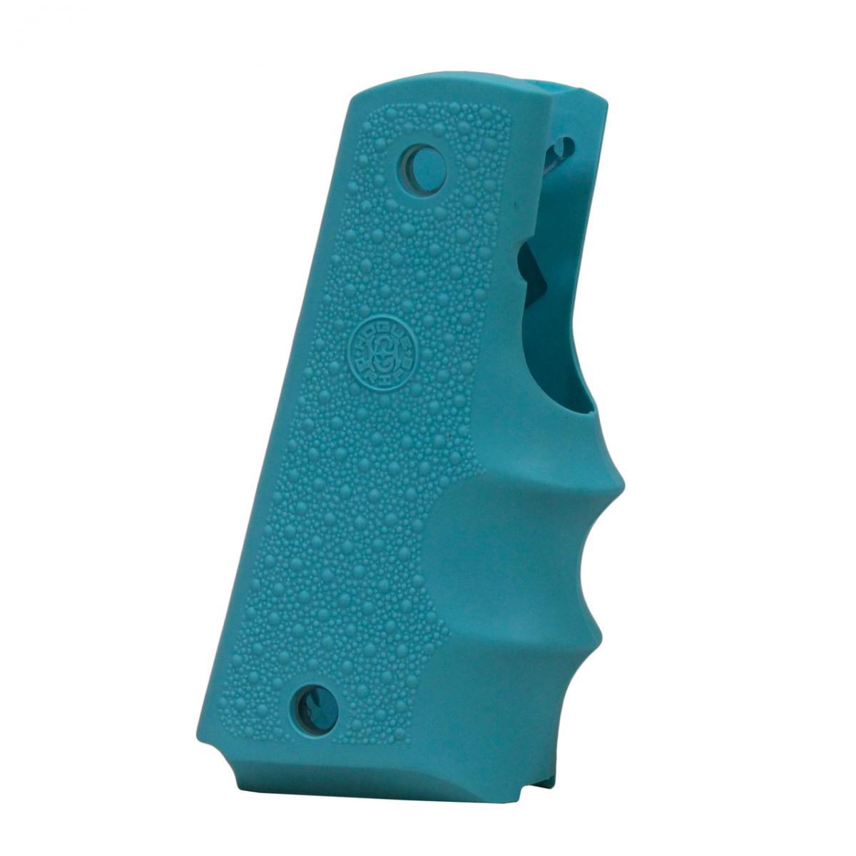Poignée plastique pour pistolet COLT 45 1911 couleur Aqua