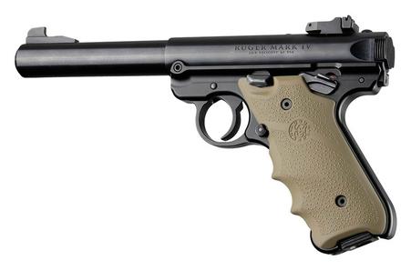 Poignée plastique pour pistoler RUGER MARK IV couleur FDE