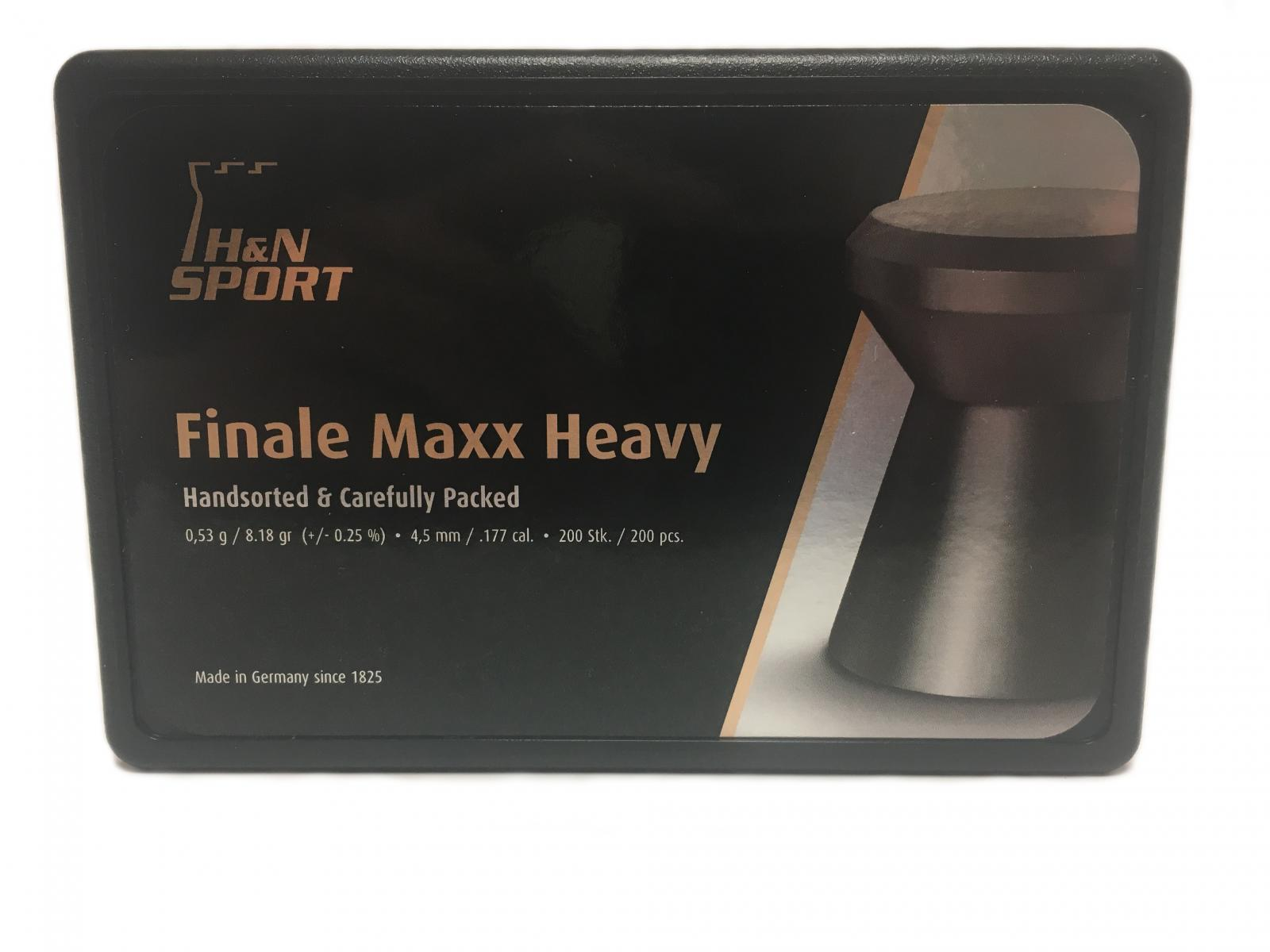 Boite de 200 plombs HN FINALE MAXX HEAVY 4.50