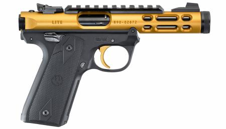 Pist RUGER 22/45 Mark IV Lite Culasse Or calibre 22LR