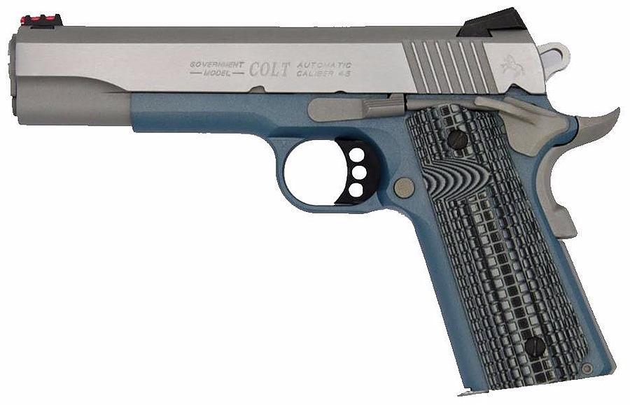 P.S.A COMPETITION BLEU TITANIUM calibre 45ACP