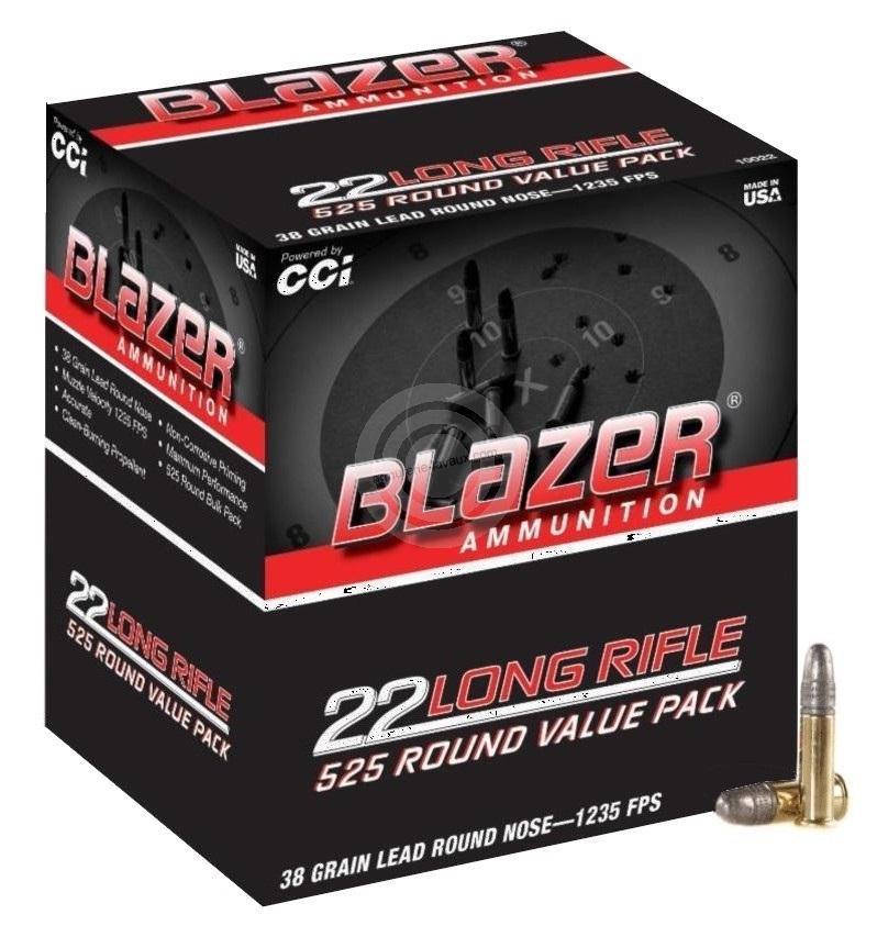 Boite de 525 cartouches BLAZER calibre 22lr