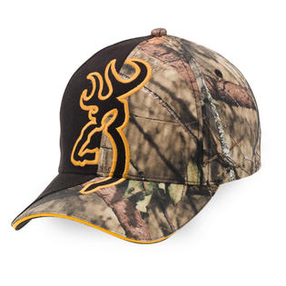 Casquette BROWNING camo noire