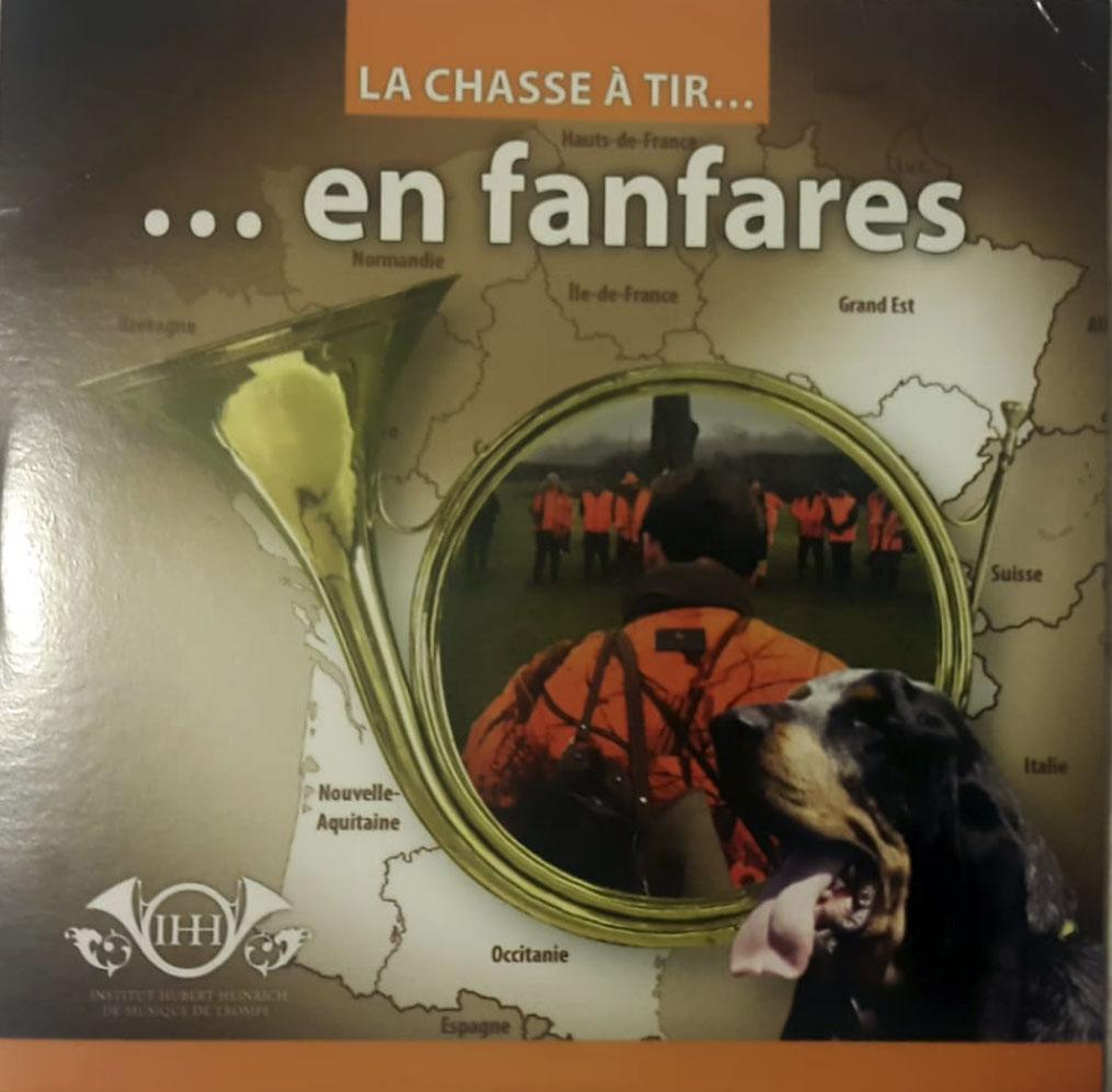 CD Audio La chasse à tir en fanfares
