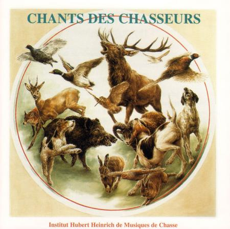 CD Audio Chants des chasseurs