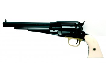 Revolver PIETTA REMINGTON 1858 calibre 44 crosse ivoirine RGAI44