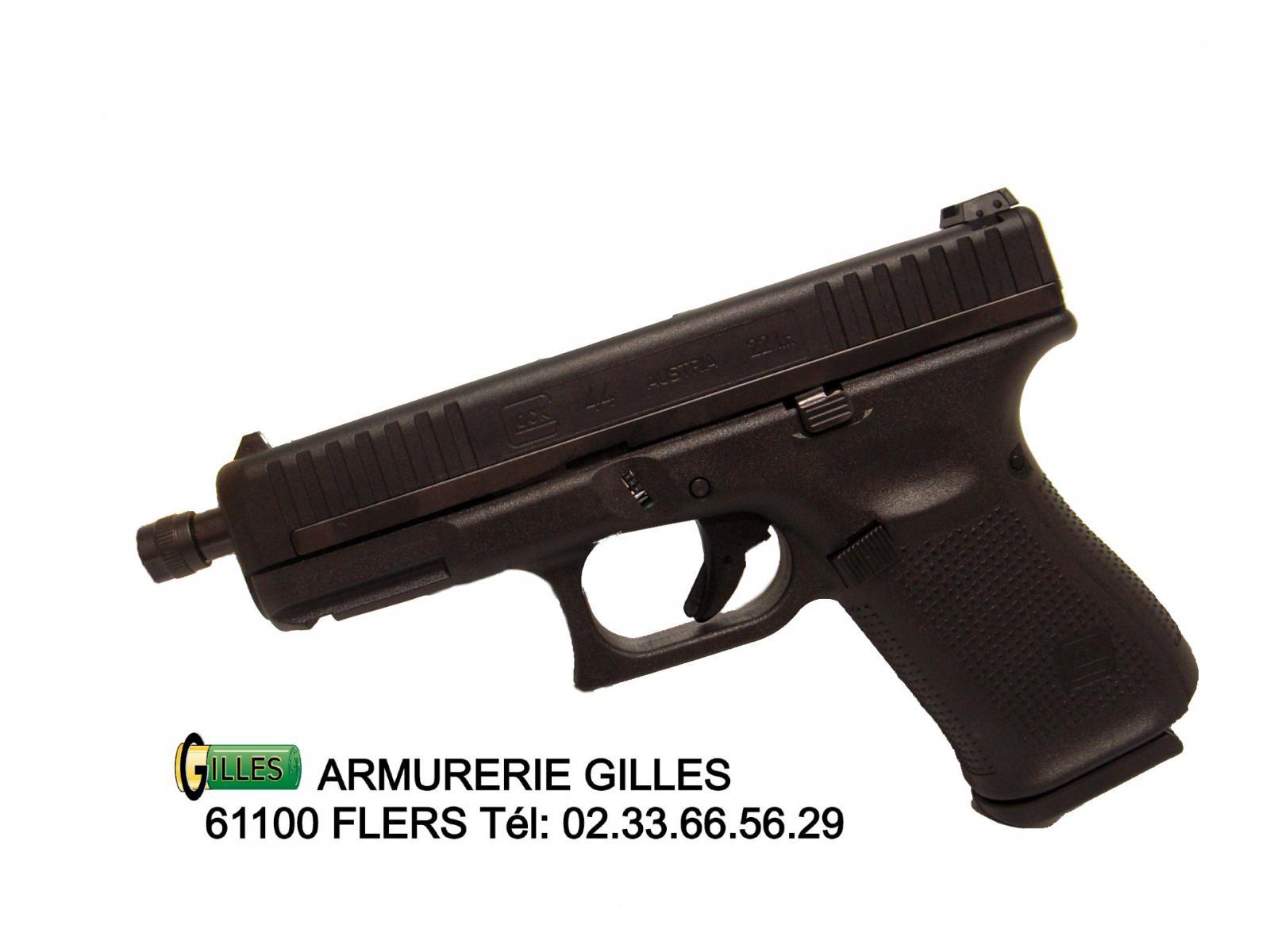 Pistolet GLOCK 44 Fileté 22LR