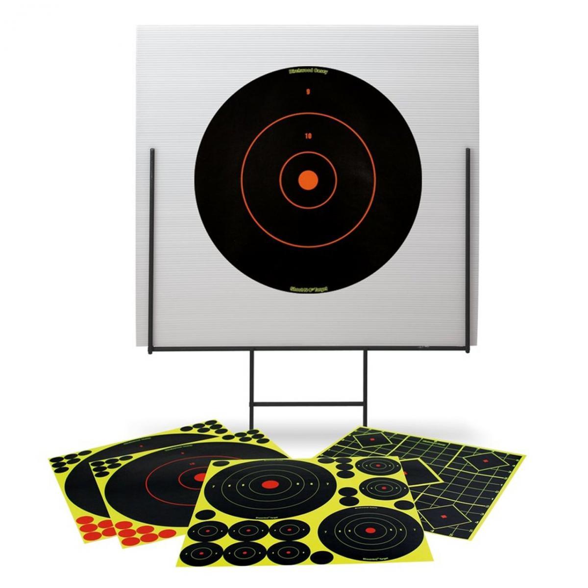 Support de cibles avec cibles adhésives BIRCHWOOD CASEY BA46010