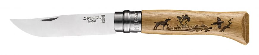 Couteau OPINEL N°8 Animalia Chien OPI002335