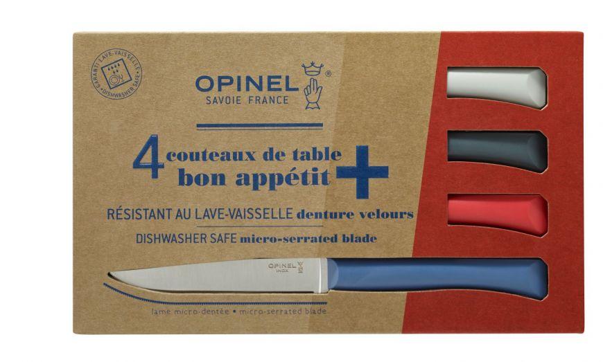 Coffret de 4 couteaux de table OPINEL N°4 OPI002048
