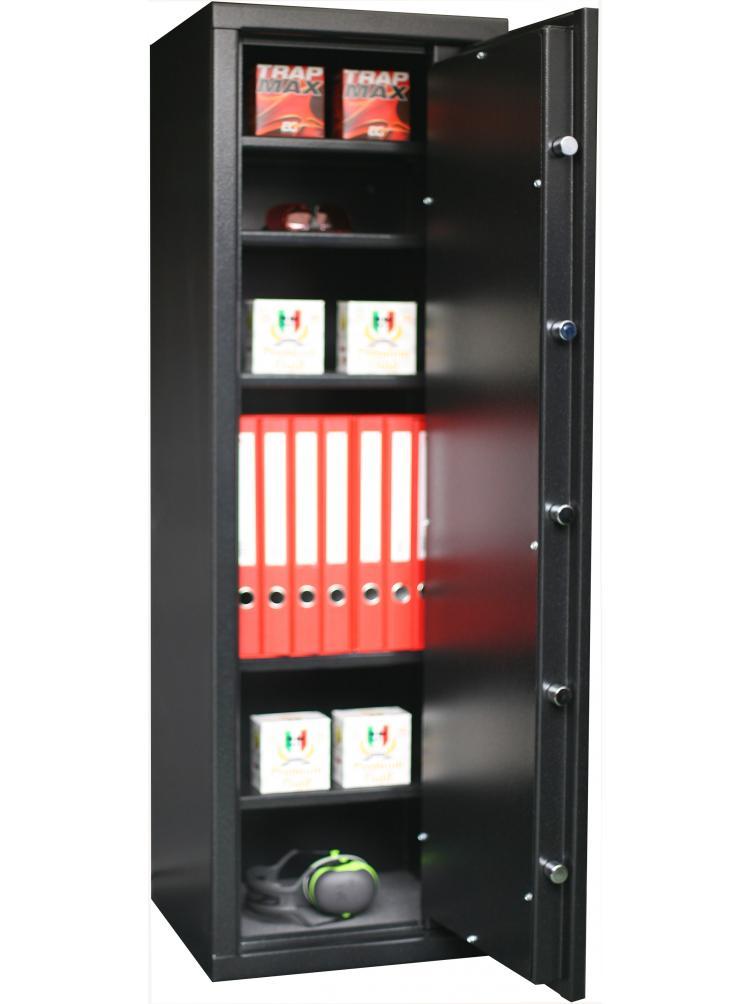 Armoire Forte à 5 étagères réglables et amovibles C15S