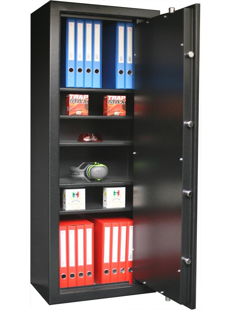 Armoire Forte 5 étagères réglables et amovibles C20S