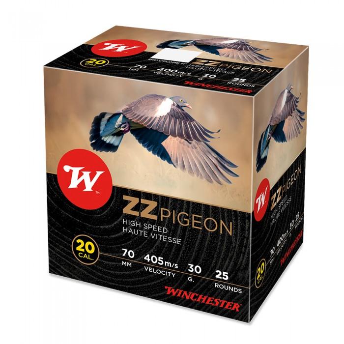Boite de 25 cartouches WINCHESTER ZZ Pigeon Cal.20