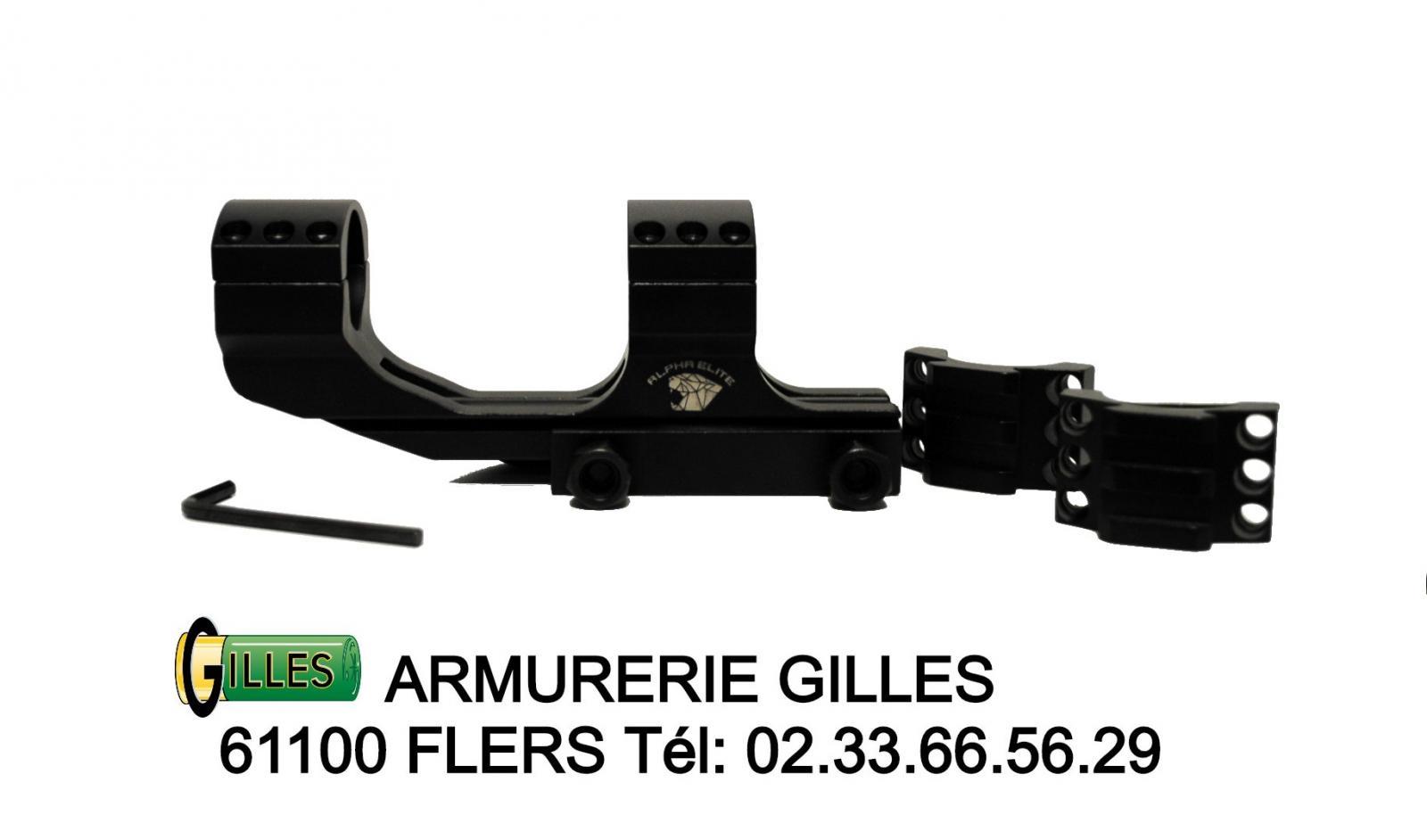 Montage PREMIUM ARMS ø25.40mm ALPHA ELITE PA00008