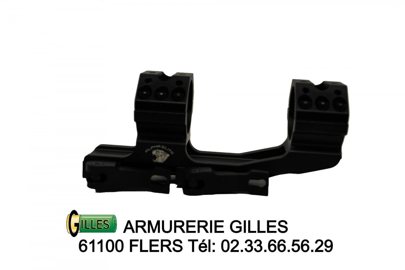 Montage Monobloc 30 mm PREMIUM ARMS Alpha Elite PA00009