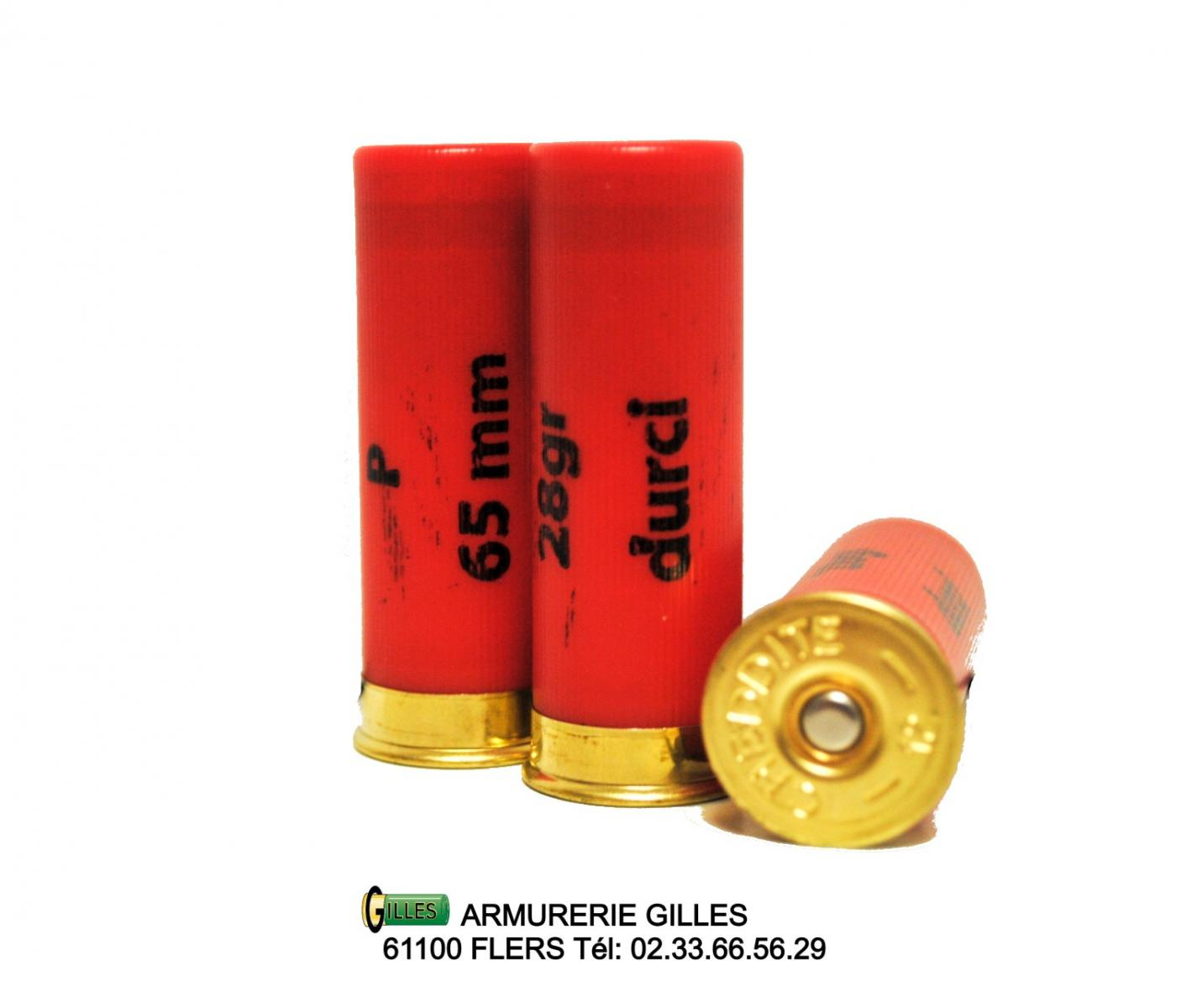 25 Cartouches pour COWBOY-SHOOTING calibre 12/65