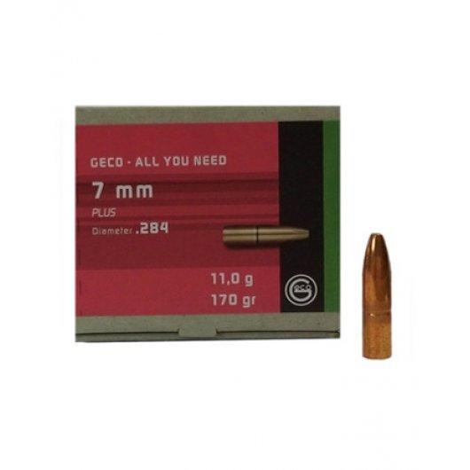 50 ogives GECO PLUS 7mm 170 grs